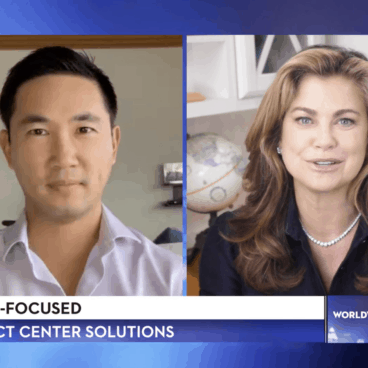 NexRep CEO Teddy Liaw discusses work from home opportunities during COVID on Worldwide Business with Kathy Ireland